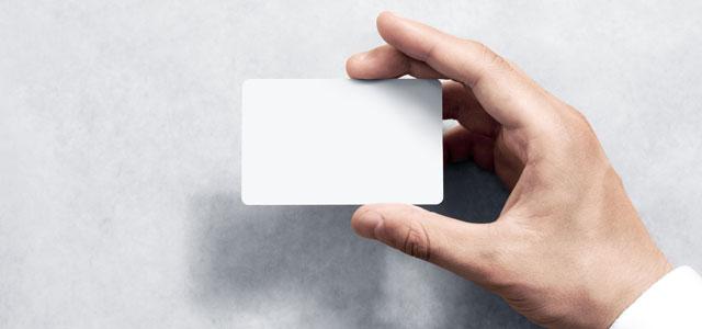 Impression de cartes PVC